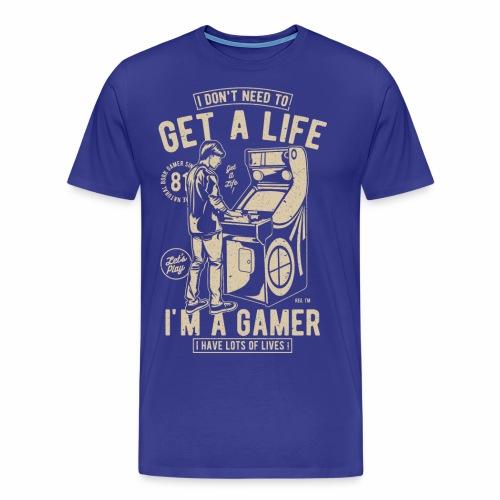 Get-A-Life - Männer Premium T-Shirt