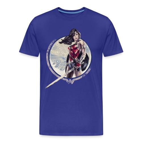 Wonder Woman Schwert Und Schild - Männer Premium T-Shirt
