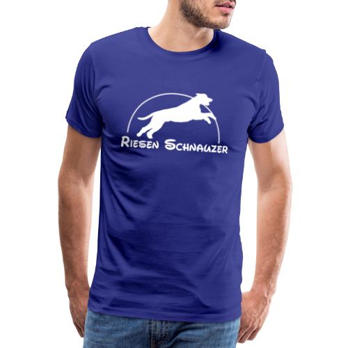 Schnauzer / Riesenschnauzer Hunde Design Geschenk - Männer Premium T-Shirt