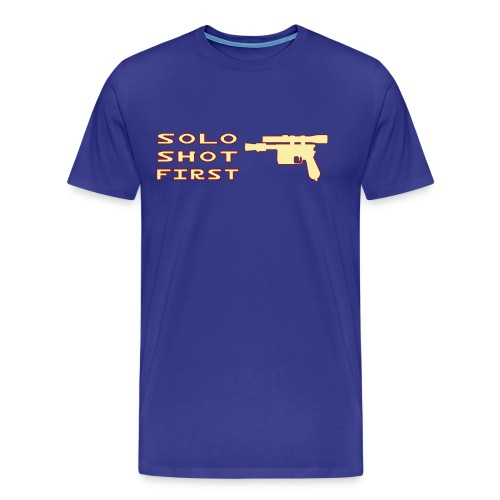 Solo Shot 1st - Maglietta Premium da uomo