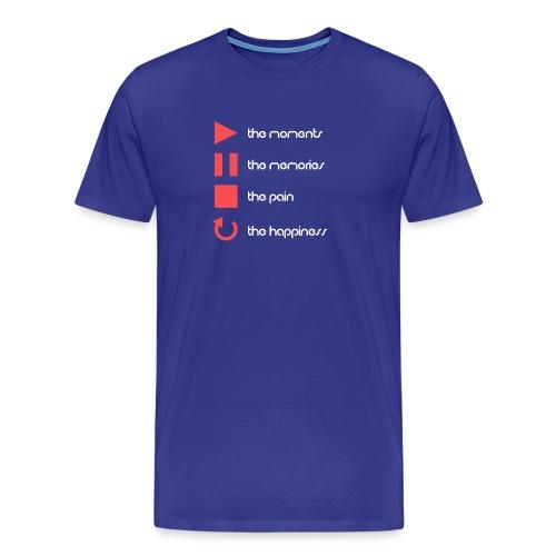 P. P. S. R. Bright Mango - Men's Premium T-Shirt