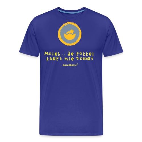 de_pokkel_knapt_mie - Mannen Premium T-shirt