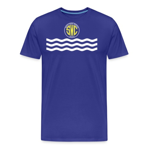 swc waves revised - Men's Premium T-Shirt