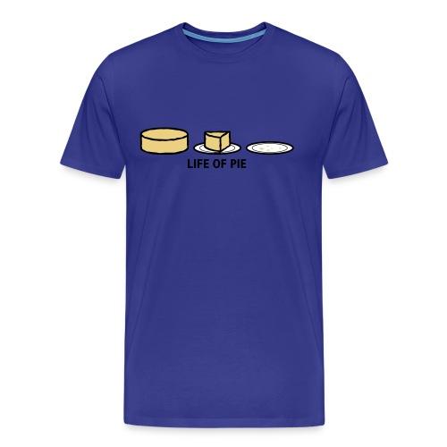 Life of Pie - Mannen Premium T-shirt
