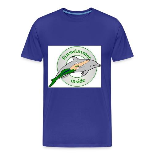 Logo Grün blau HA jpg - Männer Premium T-Shirt