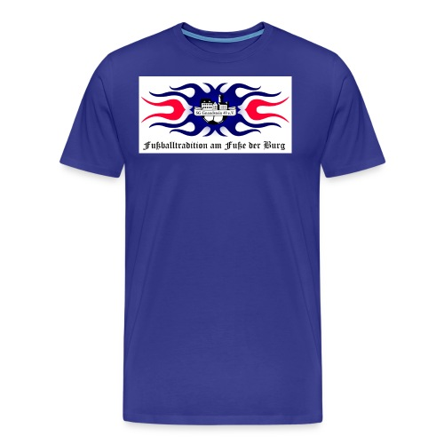 logo fußballtradition Kopie jpg - Männer Premium T-Shirt