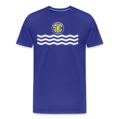 swc waves revised - Men's Premium T-Shirt