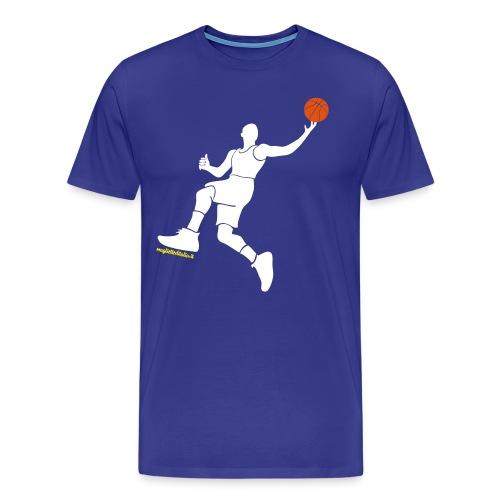 slamdunk_ball - Maglietta Premium da uomo