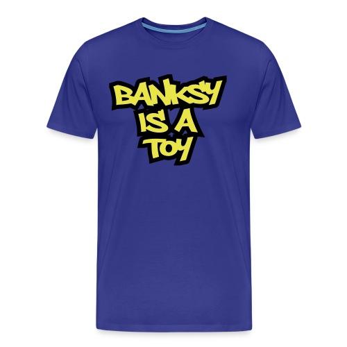 bank toy ol - Men's Premium T-Shirt