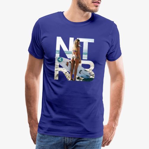 Surfeuse png - T-shirt Premium Homme