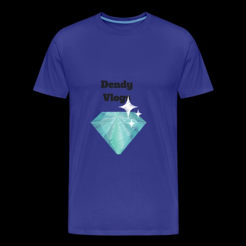 DendyVlogs Diamond Merch - Men's Premium T-Shirt
