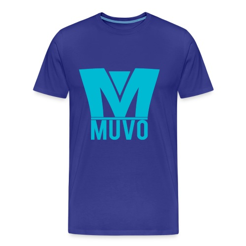Crown Muvo Logo - Simple - Premium-T-shirt herr