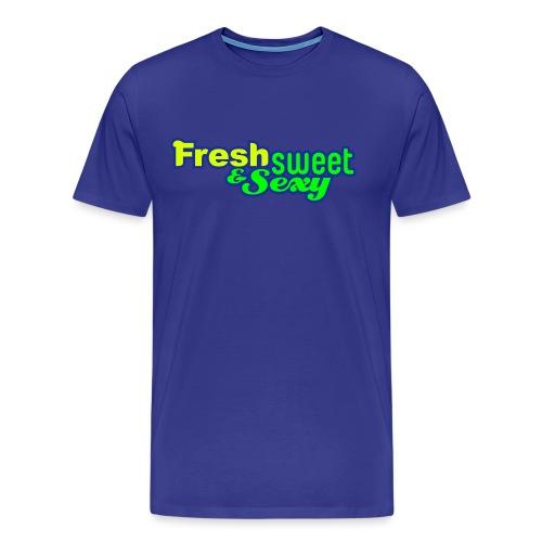v8 test 3 colours logo converted - Men's Premium T-Shirt