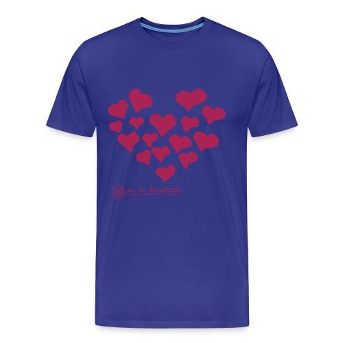 Zum Valentinstag alles liebe - 14. Februar - Männer Premium T-Shirt