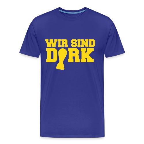 wirsinddirk01 - Männer Premium T-Shirt