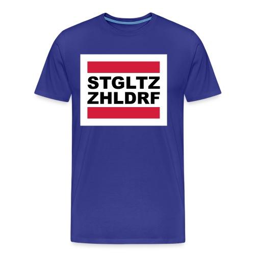 STGLZ-ZHLNDRF - Männer Premium T-Shirt