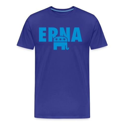 Velg Erna - Premium T-skjorte for menn