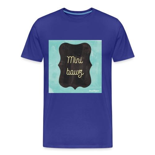 M.ini bawz - Mannen Premium T-shirt