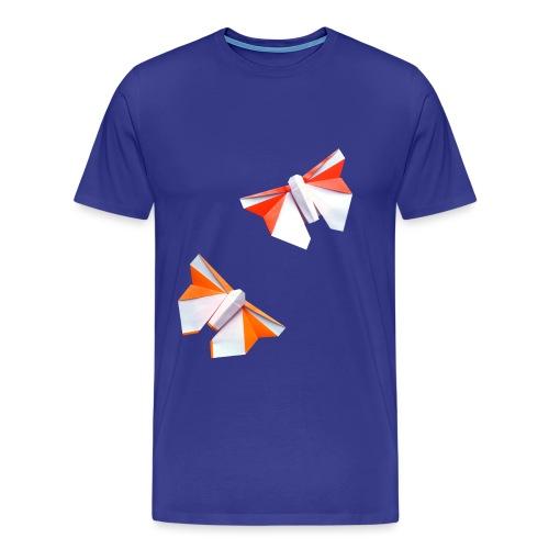 Butterflies Origami - Butterflies - Mariposas - Men's Premium T-Shirt