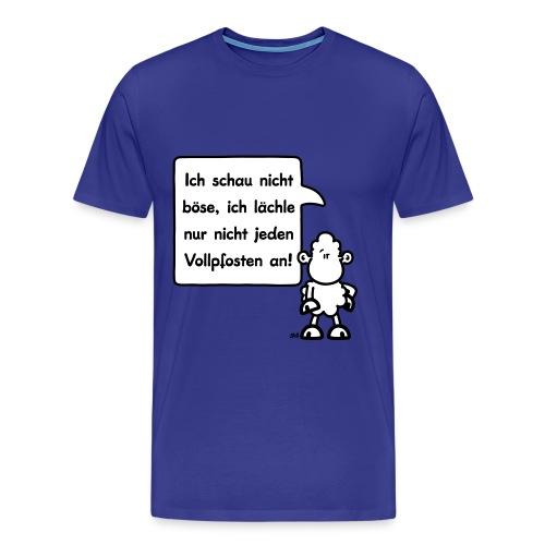 sheepworld - Ich schau nicht böse, ich lächle nur - Männer Premium T-Shirt