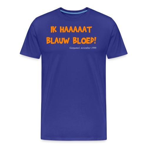 ik haat blauw bloed - Mannen Premium T-shirt