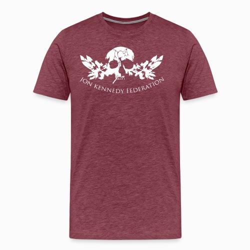 Jon Kennedy Federation Skull Logo 2.2 - Men's Premium T-Shirt
