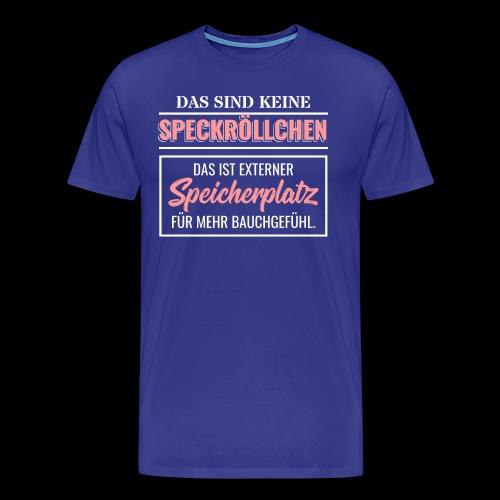 Ich Bin Nicht Zu Dick Übergewicht Selbstliebe Diät - Männer Premium T-Shirt