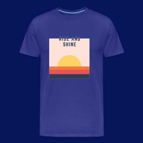 Sunset chaser PNG - Men's Premium T-Shirt