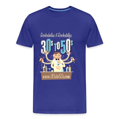 bartender2 png - Männer Premium T-Shirt