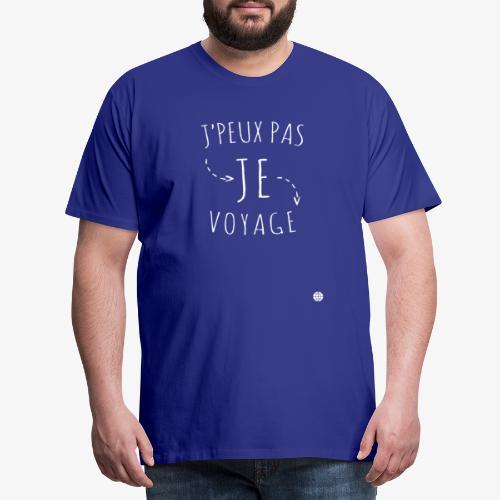 Collection officielle Je peux pas Je voyage - T-shirt Premium Homme