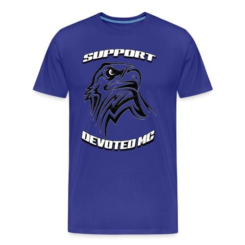 SUPPORT DEVOTEDMC E - Premium T-skjorte for menn