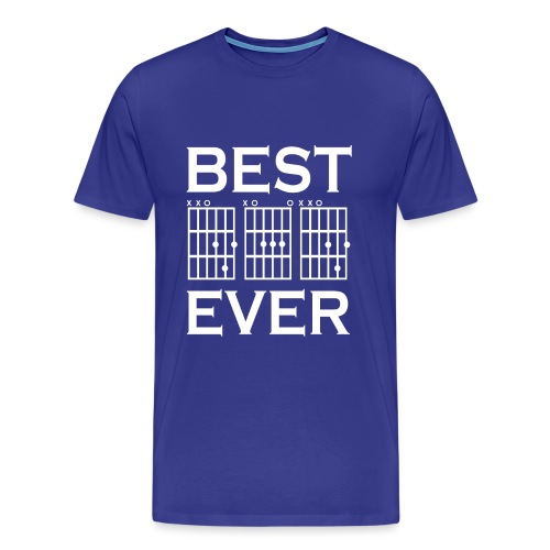 Best Dad Ever - Chord Box - Men's Premium T-Shirt