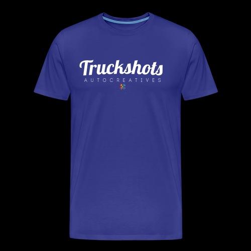 logo with small pistols RGB - Men's Premium T-Shirt