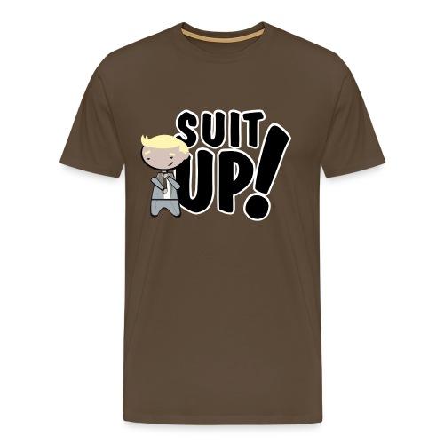 barney stinson suit up - Camiseta premium hombre