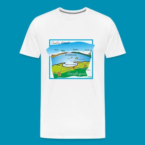 Costa Ovest png - Maglietta Premium da uomo