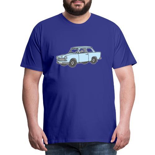 Hellblauer Trabi, Trabant - Männer Premium T-Shirt