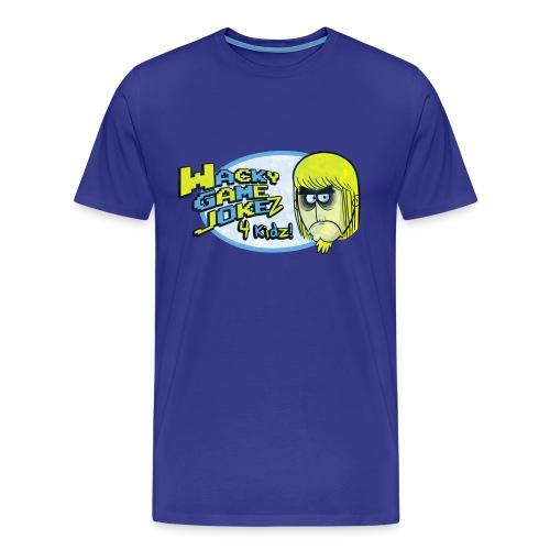 mickeytextlogo - Men's Premium T-Shirt