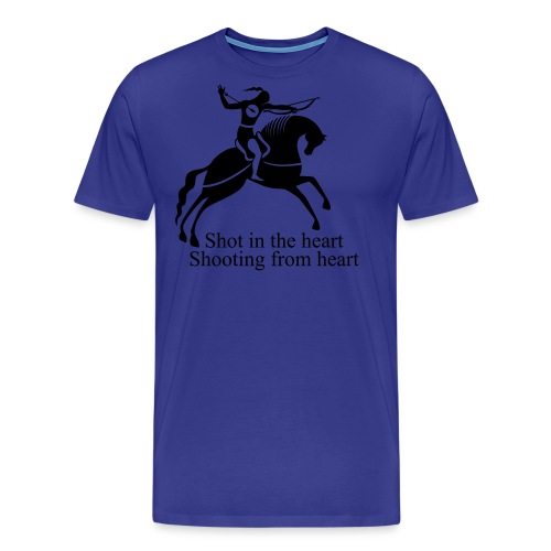 Shot in the Heart - Men's Premium T-Shirt