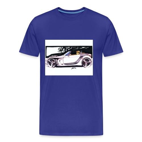 123 - Männer Premium T-Shirt