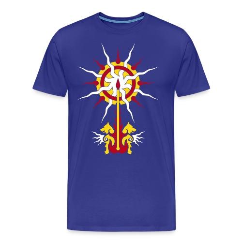 Belenos Sonnen-Ornament - Männer Premium T-Shirt