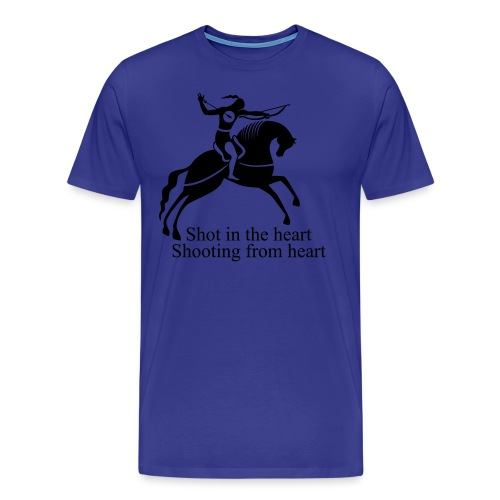 Shot in the Heart - Men's Premium T-Shirt