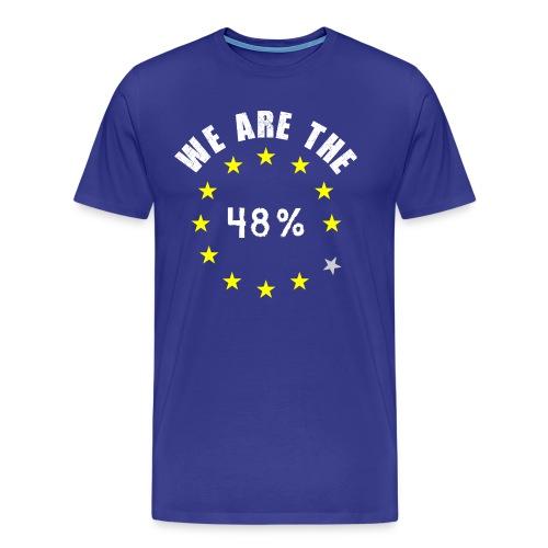 EU UK Referendum 48% - Men's Premium T-Shirt