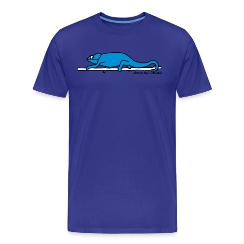 Chamaeleon - Männer Premium T-Shirt