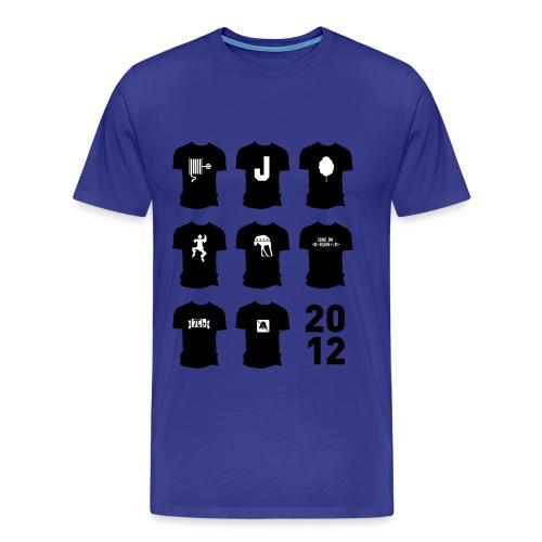 Shirt van 2012 - Mannen Premium T-shirt