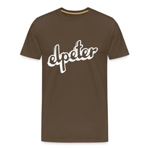 Elpeter Wit 2 - Mannen Premium T-shirt