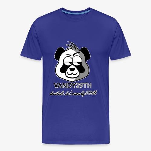 panda black - Men's Premium T-Shirt