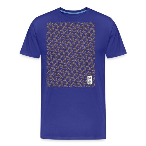YOLO_TEE_TRAME_JAUNE - T-shirt Premium Homme