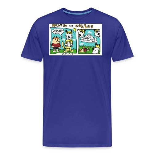 HALVIN AND COBBES jpg - Men's Premium T-Shirt