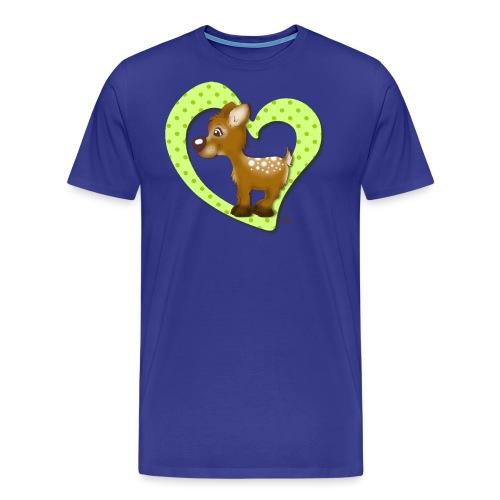 Kira Kitzi Limone - Männer Premium T-Shirt