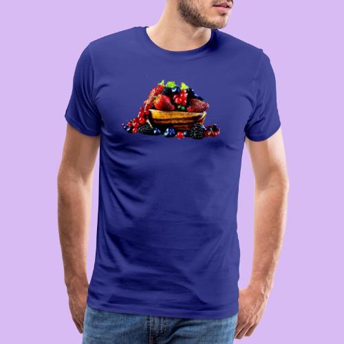 frutti di bosco - Maglietta Premium da uomo